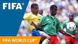 World Cup Highlights: Cameroon - Brazil, USA 1994