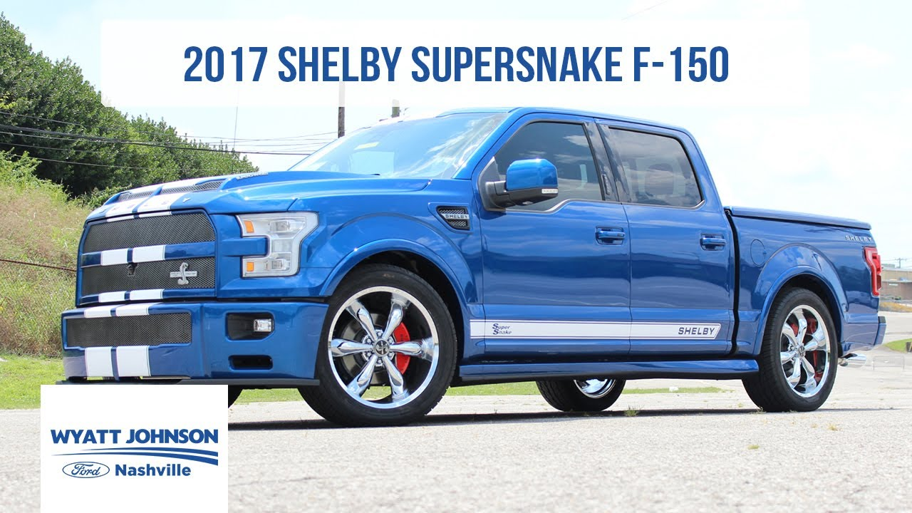 Shelby F150 For Sale >> CHRISTMAS IN JULY? 2017 Shelby Super Snake F-150 ...
