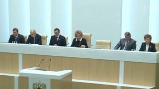 Валентина Матвиенко призвала сенаторов лично следить за выполнением нацпроектов в регионах.