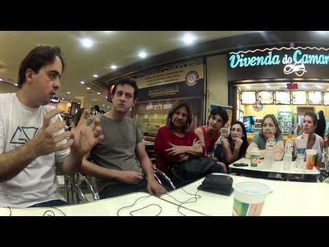 Primeiro encontro do GVA em São Paulo no Shopping Ibirapuera (Registro)