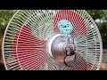 Free Energy Light Bulbs out of Electric Fan
