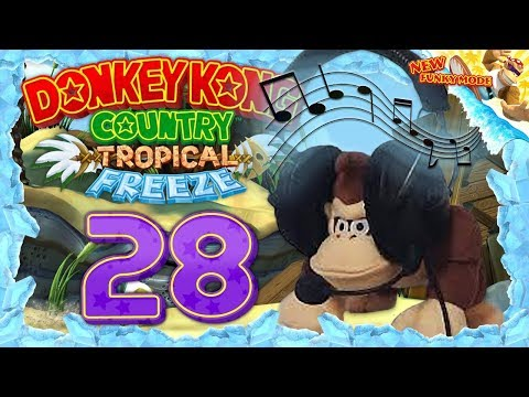 DONKEY KONG COUNTRY: TROPICAL FREEZE #28: Wasser kann auch weh tun! [1080p] ★ Let's Play