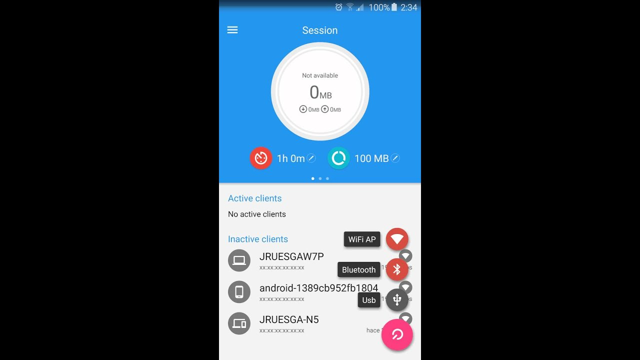 Data Sharing - Tethering 2 2 4 APK Download - Android