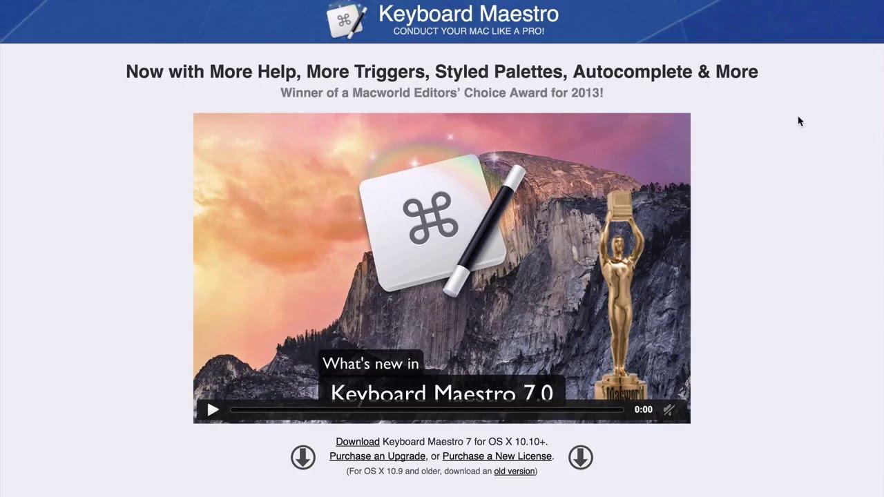 Mettez votre Mac au travail avec Keyboard Maestro 7.03 (+ coupon de réduction)