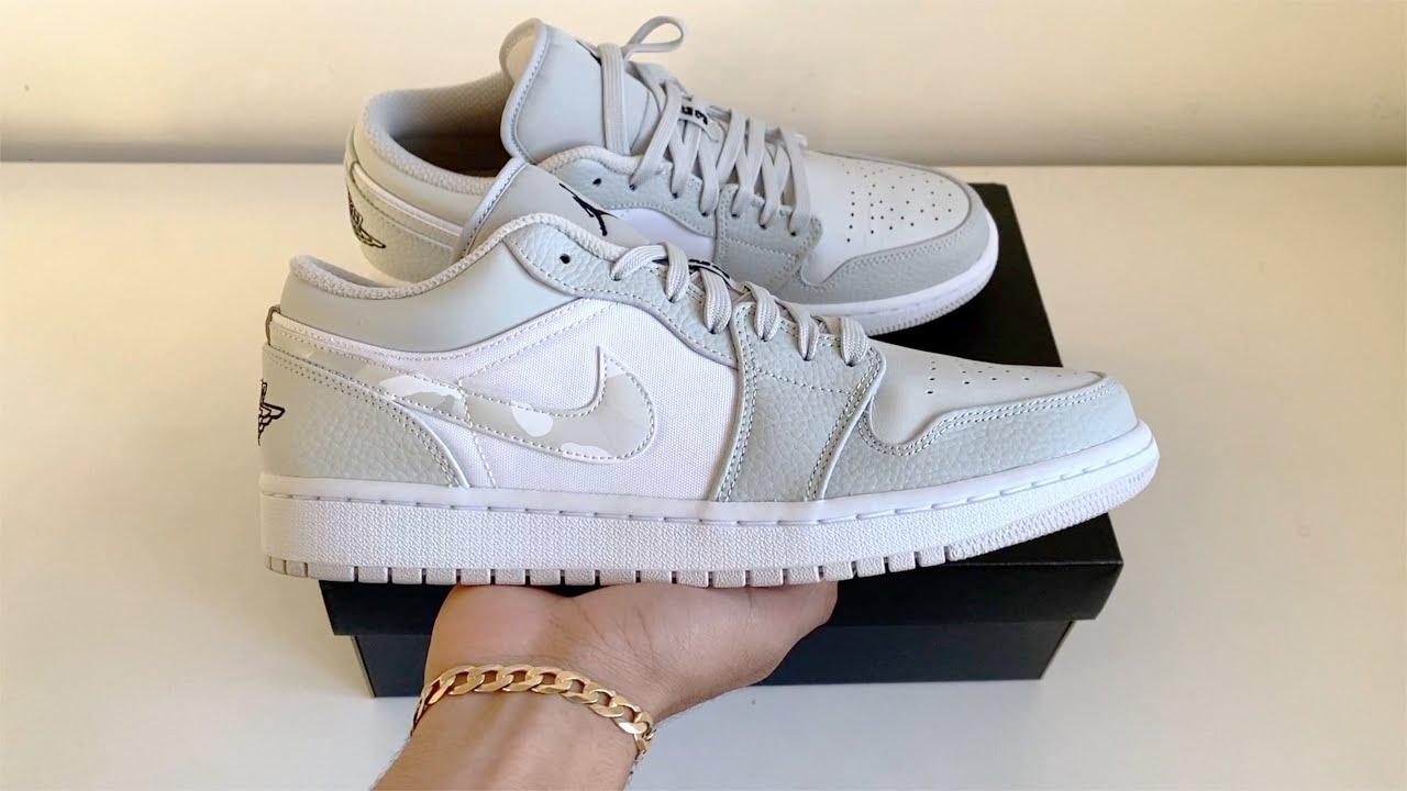 Nike Air Jordan 1 Low White Camo (Dior Alternative ?)