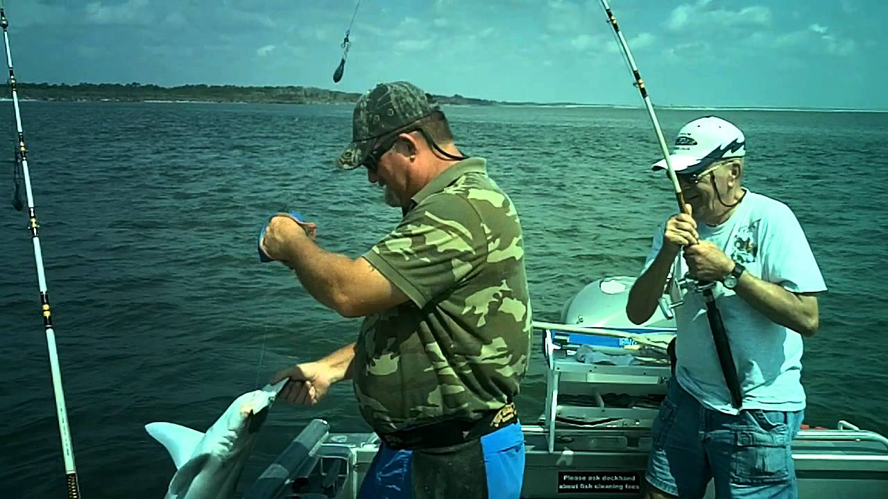 Just fun fishing nassau sound amelia island youtube for Nassau fishing charters