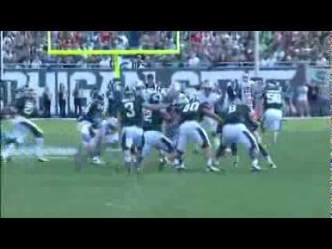 Bradley Roby Blocks punt-Ohio State Football Highlight