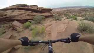 MTB Moab Upper Captain Ahab Trail