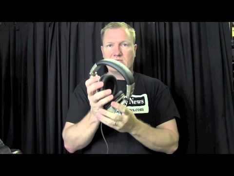 Shure SRH750DJ Headphones Review by John Young of the Disc Jockey News