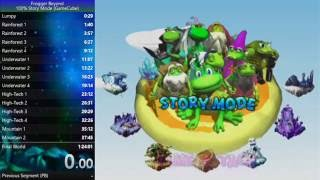 [My Old WR] Frogger Beyond (GCN) 100% Story Mode Speedrun in 1:11:56.89