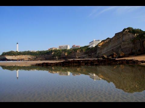 Grande marée exceptionnelle de coefficient 117 à Biarritz