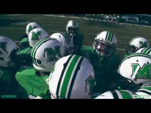 Marshall Football vs. Akron 9/17/16