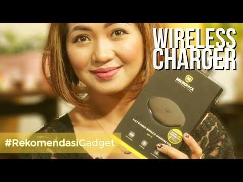 Masi Jaman Charge Pake Kabel ? Wireless Charging Pad Micropack WCP-10 Yang Keren Dan Minimalis!