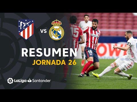 Resumen de Atlético de Madrid vs Real Madrid (1-1)
