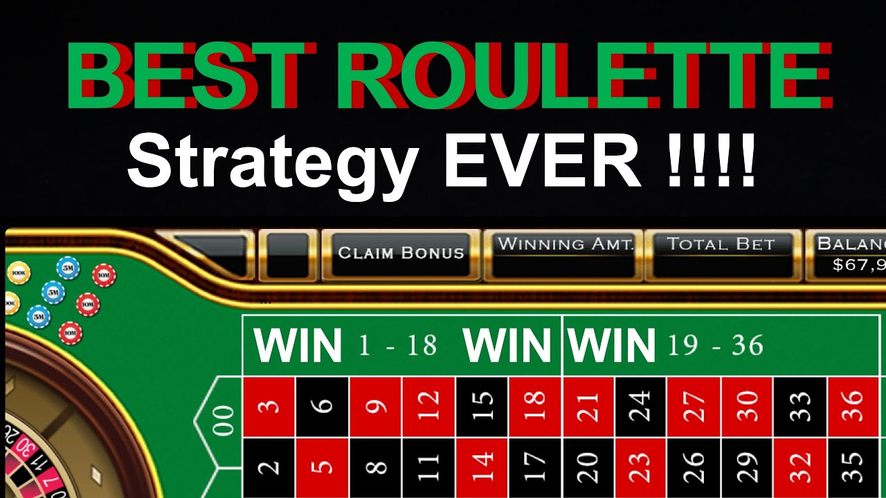 BEST ROULETTE STRATEGY EVER !!! 100% WIN BIG - YouTube