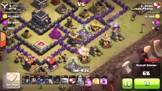 Download lagu CLASH OF CLANS GOWIPE Clan Wars Attack Strategy Part 5