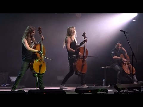 Apocalyptica Plays Metallica - Live @ Crocus City Hall, Moscow 23.04.2017 (Full Show)