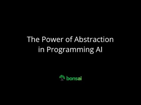 The Power of Abstraction in Programming AI