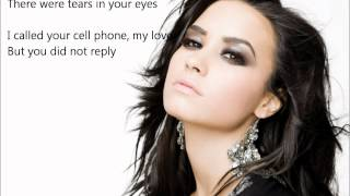 Demi Lovato - Give Your Heart A Break LYRICS| Give Your Heart A Break Demi Lovato HD LYRICS
