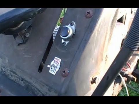 hqdefault how to re wire a riding lawn mower youtube wiring harness for craftsman riding mower at bayanpartner.co