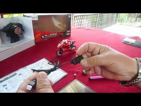"UNBOXING SHENQIWEI ""ALLEGRO""2,4GHz 1/20 MINI MOTOR CYCLE RTR(courtesy Banggood)"