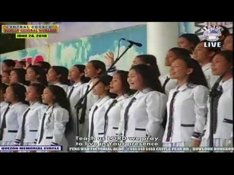 JMCIM Main Youth Choir - My Love and My Light - June 24, 2018