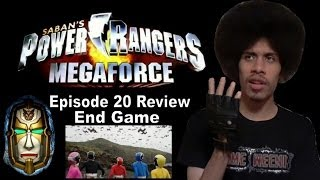 Power Rangers MegaForce Episode 20 Review - End Game