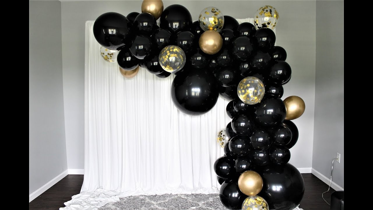 Simple Balloon Decorations