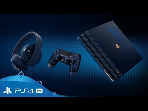 PlayStation 4 Pro | 500 Million Limited Edition
