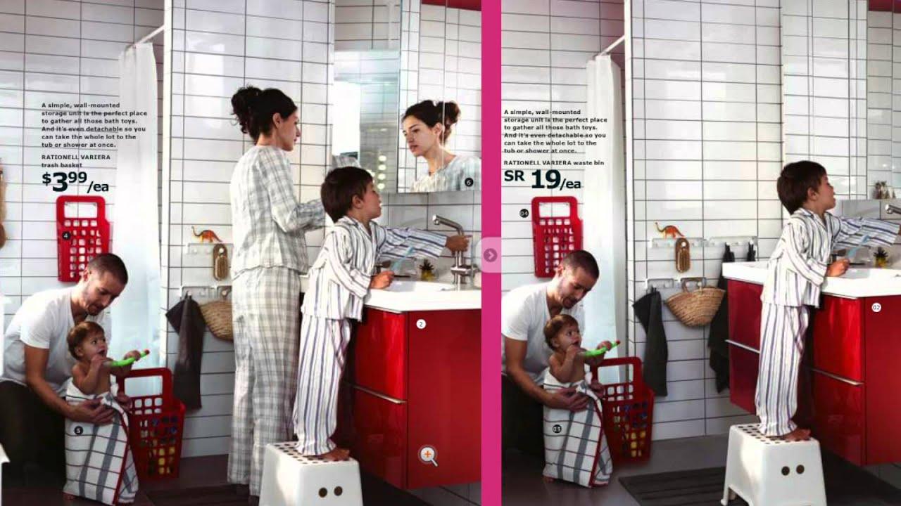Ikea 2012 Catalog Ikea Apologizes For Removing Women From Saudi Catalogues