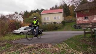 Elsykkeltur i Tvedestrand og Risør