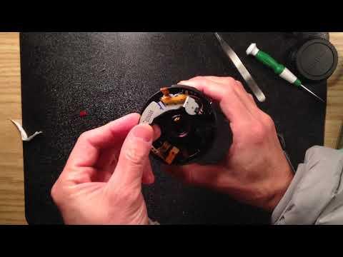 How to fix Canon 18-55mm IS II kit lens autofocus problem (flex cable broken).