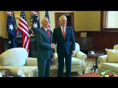 مايك بينس يزور أستراليا لإصلاح ما أفسده ترامب  - نشر قبل 1 ساعة