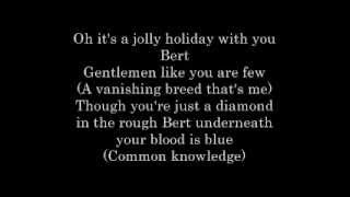Jolly Holiday Lyrics