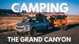 S1:E17 Camping on tнe edge of the Grand Canyon - Lifestyle Overland