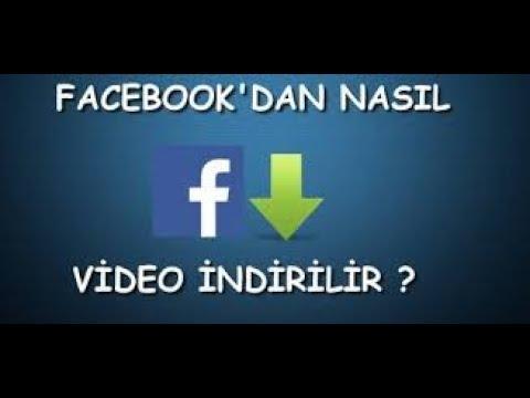 Facebook'tan Video Indirmek çok Kolay( Programsız Ve Pratik)