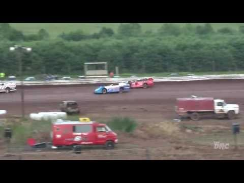 Midway Speedway | 6.5.16 | Late Models | Heat 1