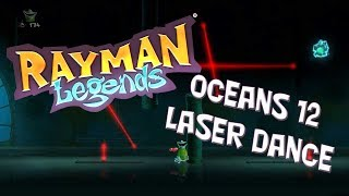 Rayman Legends - Oceans 12 Laser Dance with added FAIL!