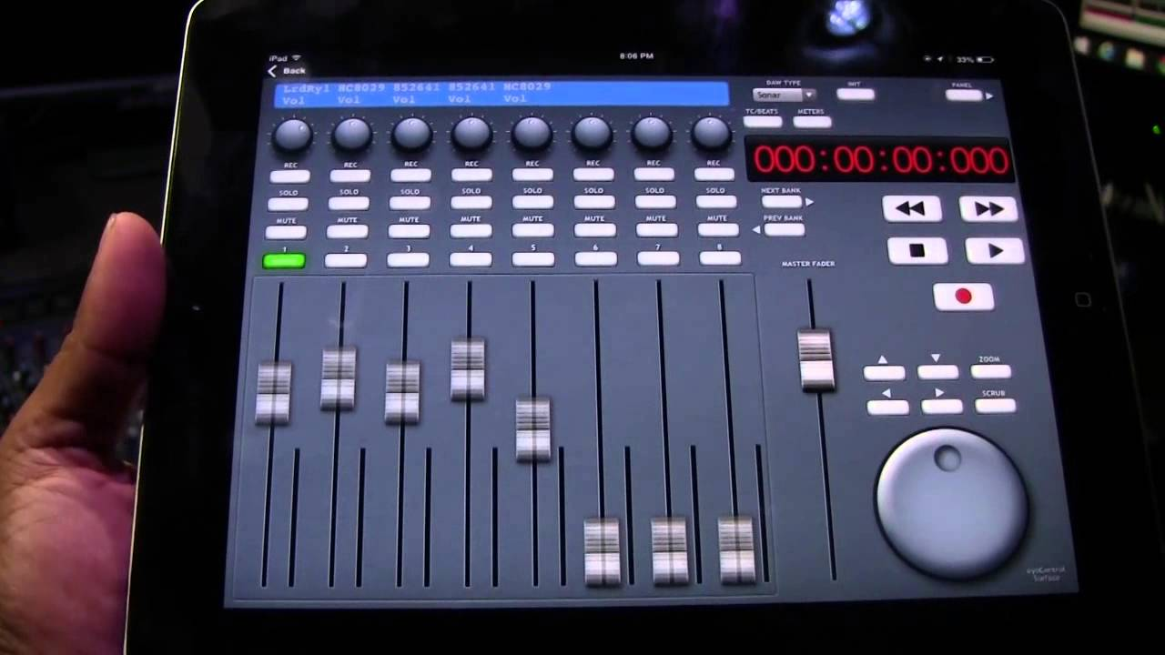 Overview Of The Eyocontrol App With Sonar X3 Youtube