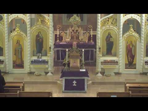 Christ The Saviour Orthodox Cathedral Service 2020-03-20