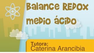 Balance redox medio ácido