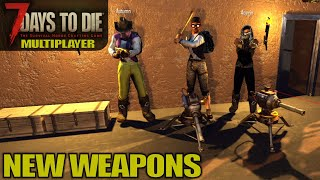 Fat Loot, New Weapons | 7 Days to Die | Alpha 18 MP Gameplay | E03