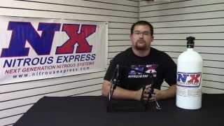 Nitrous Express Quick Release Billet Bottle Bracket part# Speed00003
