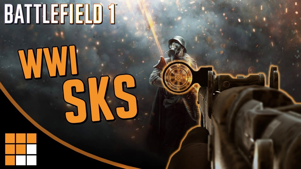 WWI SKS: The Howell Automatic Rifle - Best Gun in Battlefield 1's Apocalypse DLC?