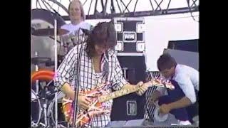 Van Halen rare footage pre-concerts (Soundcheck 09-01-1986)