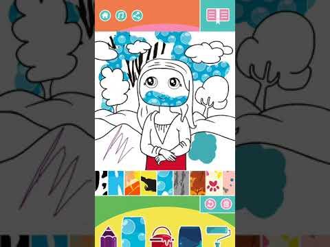 Mini Art – Storytelling painting application for kids