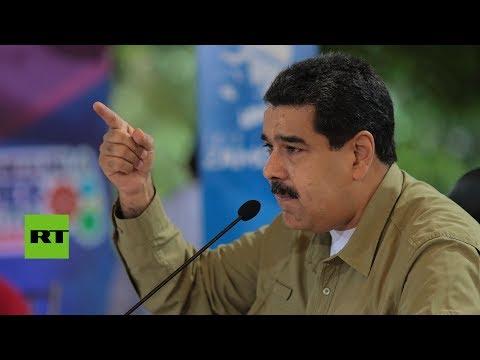 """Nicolás Maduro a EE.UU.: """"Saquen sus narices de Venezuela"""""""