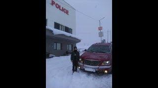 Новый Год.Chrysler Pacifica 2005 год.2017 год-прощай,2018-привет.Грузия.Перевал.Снегопад.