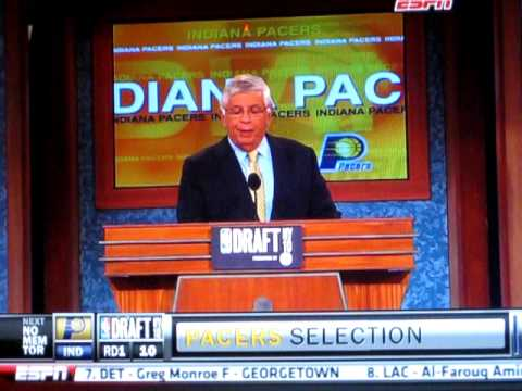 2010 NBA Draft - Pacers select Paul George SF/PF - 10th Overall