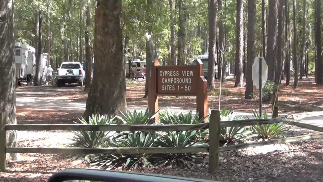 Santee State Park Campground Youtube